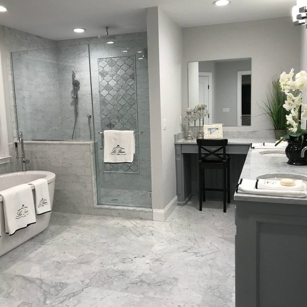 Kitchen Bathroom Remodel In Paramus NJ Kennedy Tile Marble - Bathroom remodeling paramus nj