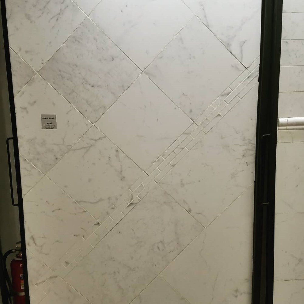 Ceramic Bathroom Tiles Handmade In Italy: Italian Porcelain Marble Look Tiles
