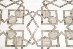 Jersey City Mosaic Marble Water Jet Tiles