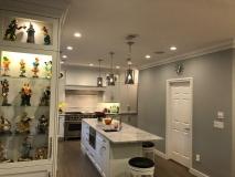 Quartz Kitchen Counters and Backsplash in Livingston NJ