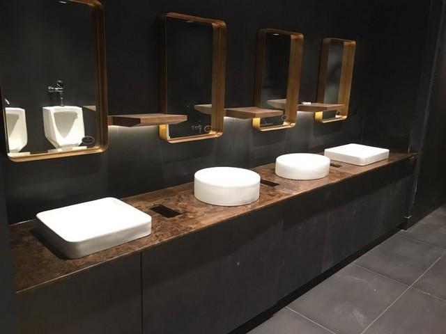 Custom Marble Vanities and Desktop for Westmount Country Club Woodland Park, NJ