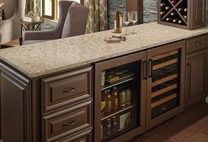 MSI Quartz countertops kitchen